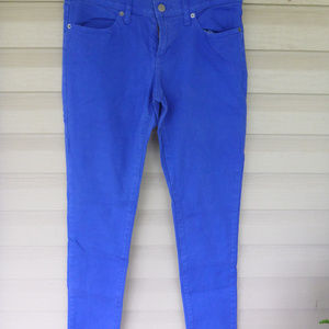 Banana Republic Periwinkle Thin Jeans Size 28 / 6